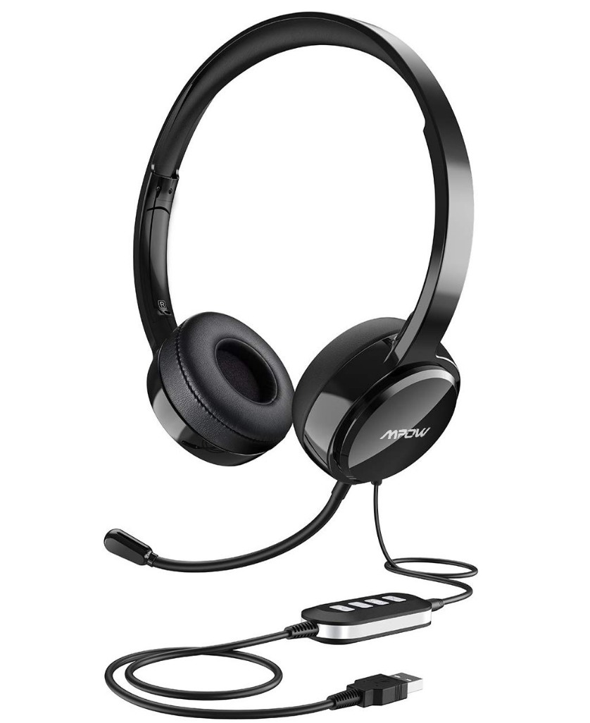HEADSET WITH MICROPHONE & STAND($21.99)