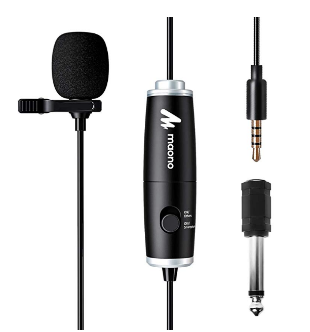 BEST CLIP ON MIC WITH CONDENSER ($19.28)