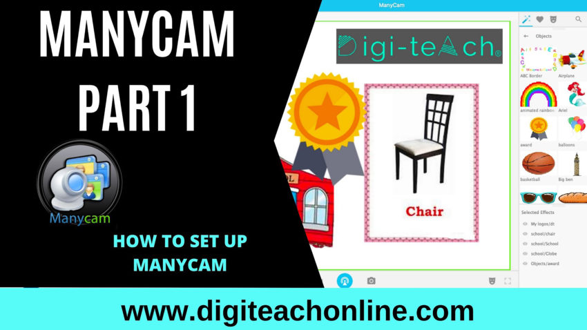 HOW TO SET UP MANYCAM – PART 1