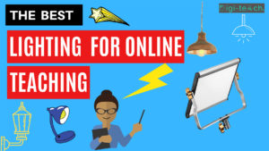 The best lighting for online teaching