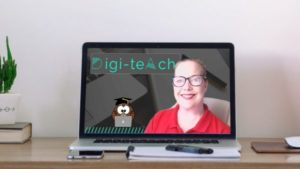 Teach online from home