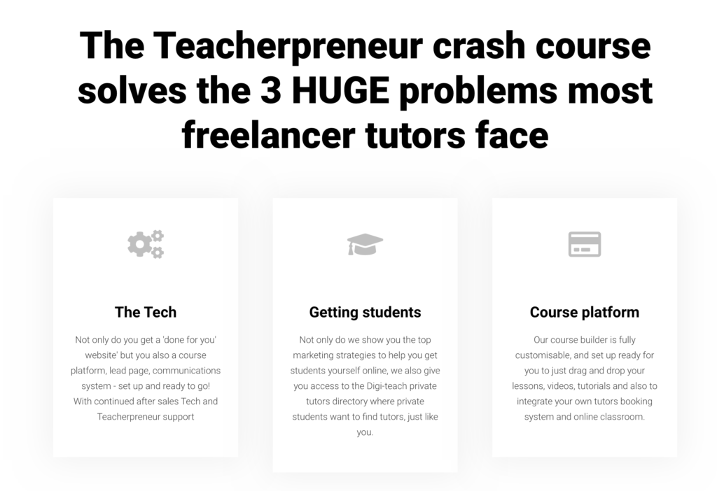 The best tutoring website, course builder and more, done for you