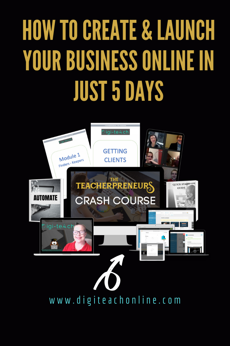 How to start an online business in 5 days