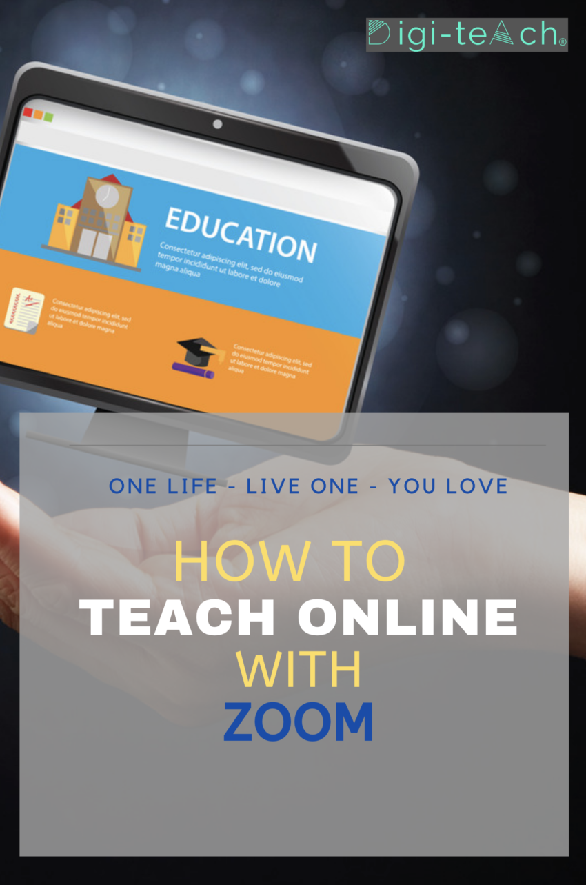 How to teach online with Zoom