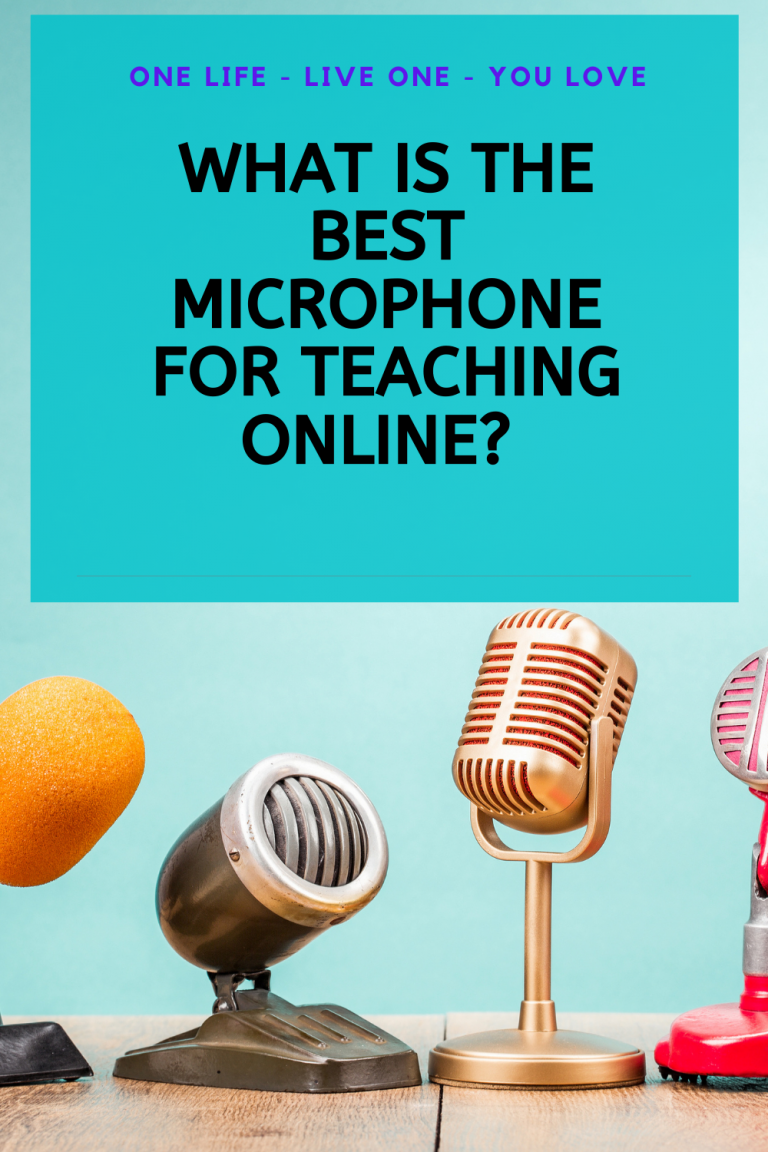 What is the best microphone for teaching online?