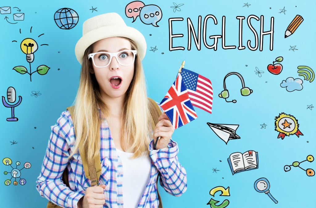 Who learns English online?