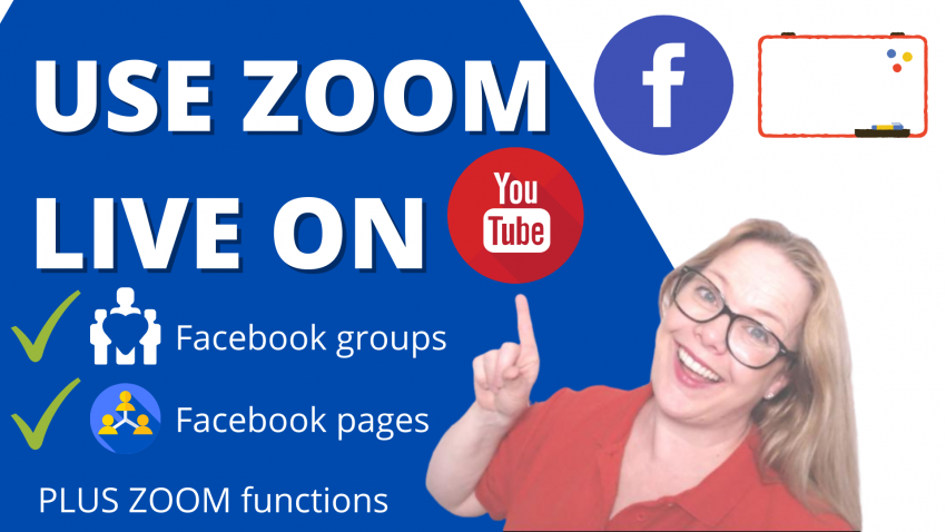 How to use Zoom LIVE on facebook and Youtube: Full Tutorial