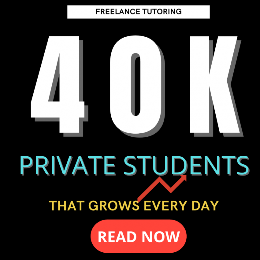 How to Grow an Online Tutoring Business to 40K students as a Freelance Tutor: 5 Top Tips that you can use and do today!
